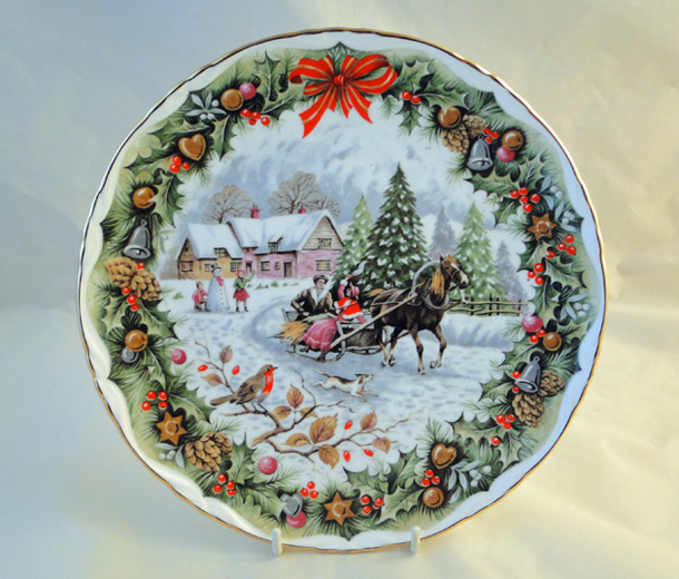 Christmas Sleighride, from Royal Albert