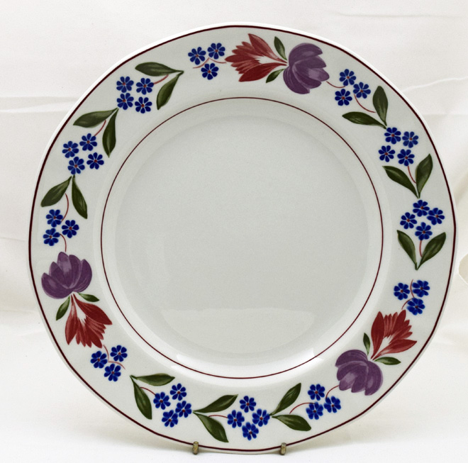 & Adams Old Colonial Dinner Plates