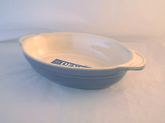 DENBY POTTERY CLASSIC SMALL OPEN OVAL VEGETABLE SERVING DISHES