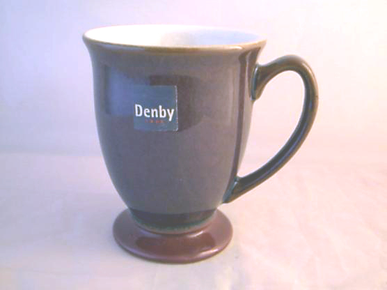 Denby Storm Footed Mugs/Beakers (Plum)