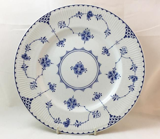 Furnivals Blue Denmark Dinner Plates