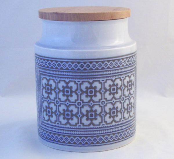 Hornsea Pottery Tapestry Unlabelled Storage Jars