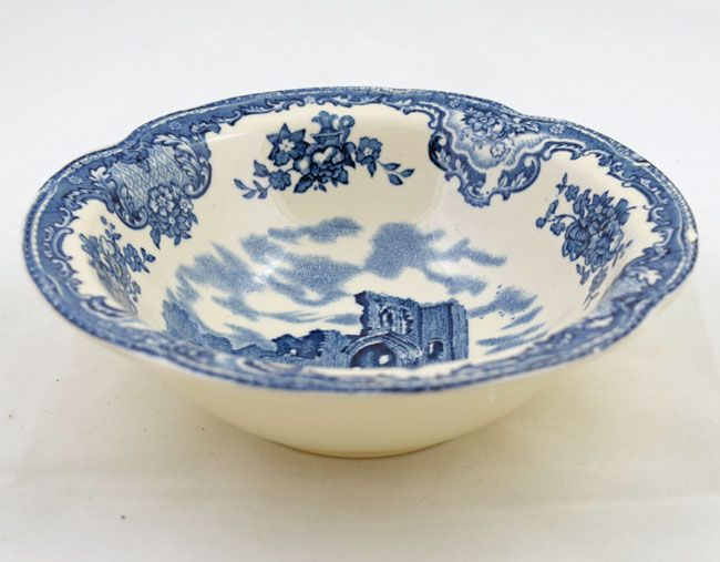 Johnson Brothers (Bros) Old Britain Castles Dessert Bowls