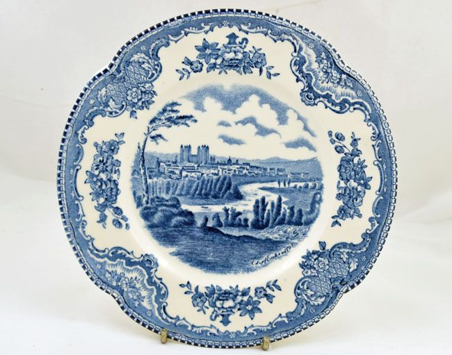 Johnson Brothers (Bros) Old Britain Castles Tea Plates .  sc 1 st  Replace Your China & Johnson Brothers Bros Old Britain Castles Tea Plates