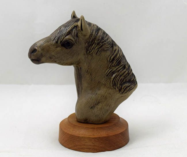 Poole Pottery Stoneware, New Forest Pony Head
