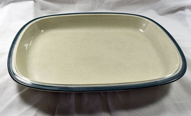 Wedgwood Blue Pacific Oven to Table Large Rectangular Serving Dishes